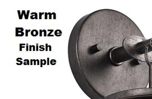 Kichler 4935WMZ Accessory Stem 0.625 x 12-Inch, Warm Bronze