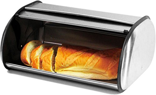 stainless steel 2 loaf bread box - 7