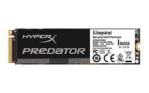 Kingston Digital, Inc. HyperX Predator 960GB PCIe SSD M.2  2