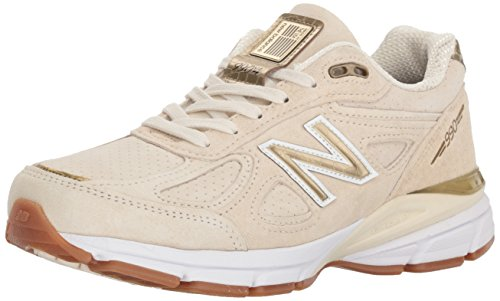 - New Balance Women's 990v4 Running Shoe, Angora, 5.5 B US