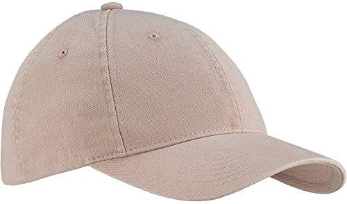 6997 Flexfit Low Profile Garment Washed Cotton Cap - Large/X-Large (Khaki)