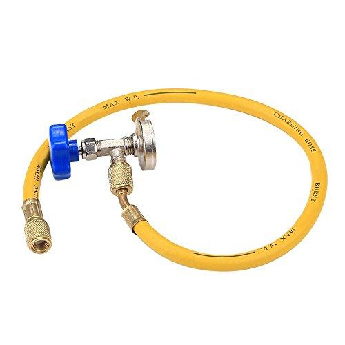 refrigerant recharge r134 r410 can tap tapper hose kit charge equipment automotive parts. Black Bedroom Furniture Sets. Home Design Ideas