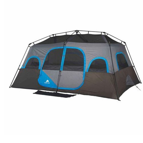 Amazon.com  Ozark Trail 14u0027 x 10u0027 Instant Cabin Tent Sleeps 10 People Outdoor C&ing  Sports u0026 Outdoors  sc 1 st  Amazon.com & Amazon.com : Ozark Trail 14u0027 x 10u0027 Instant Cabin Tent Sleeps 10 ...