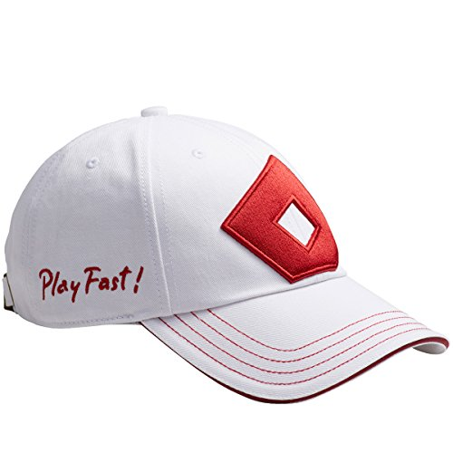 と下摂動オノフ ONOFF 帽子 キャップ YOK0217 ホワイト/レッド フリー