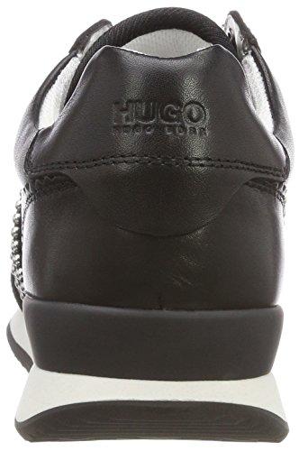 Hugo Uptown Adrienne-St, Scarpe da Ginnastica Basse Donna Nero (Black 001)