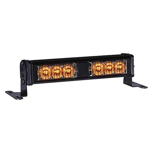 PSE Amber - XT302AA - Double Lighthead, LED, Amber, Rect, 7-1/8 L ()