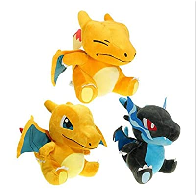 JYCDD Paws How to Train Your Dragon Toothless Soft Toy Dark Features20 cm,Black: Home & Kitchen