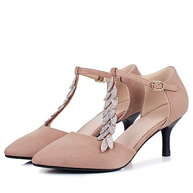 Zormey Tacones Mujer Primavera Otoño Club Gladiador Zapatos Zapatos Formales Comfort Novedad Flor Chica Tobillo Suelas De Zapatos Ligeros Materiales Personalizados US5 / EU35 / UK3 / CN34