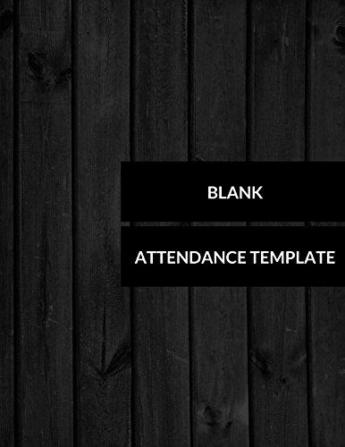 Blank Attendance Template