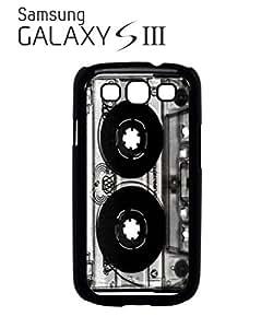 Cassette Retro Vintage 90's Mobile Cell Phone Case Samsung Galaxy S3 Black