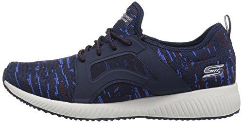 para Azul Dare sin Squad Zapatillas Skechers Navy Double 40 Mujer EU Bobs Cordones Blue qw0txUzx