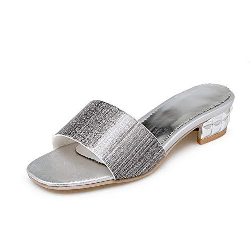 Silver Bout AdeeSu Ouvert SLC04410 Femme zgISgxaq