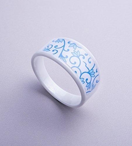 KEYDEX NFC Multi-function Ring #16 (2.34 In), Fine Ceramic, Waterproof Patent by Keydex