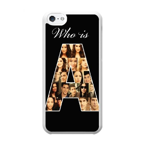 Coque,Coque iphone 5C Case Coque, Pretty Little Liars Cover For Coque iphone 5C Cell Phone Case Cover blanc