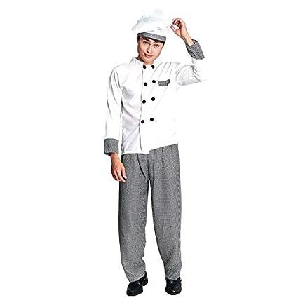 Disfraz Cocinero Chef Hombre (Talla L) (+ Tallas) Carnaval ...