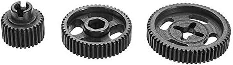 Engranaje Mejora duradera Hierro Plus Tratamiento térmico del acero duro engranaje Ajuste for el FY-03 1/12 de control remoto modelo de coche engranaje impulsor