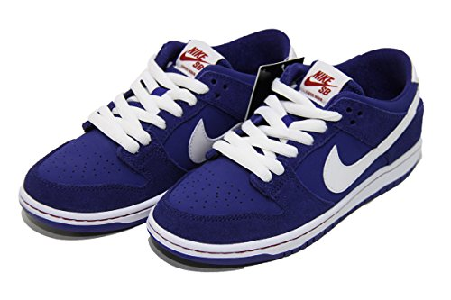 Nike DUNK LOW PRO IW skateboarding-shoes DEEP ROYAL/GYM RED/WHITE/WHITE