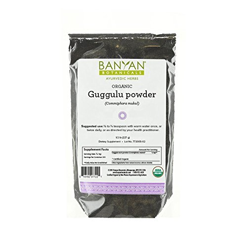 Banyan Botanicals Guggulu - Certified Organic, 1/2 Pound - Supports the proper function of the joints*