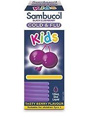 Sambucol Kids Formula Cold & Flu Oral Liquid, Aus Version, 120ml