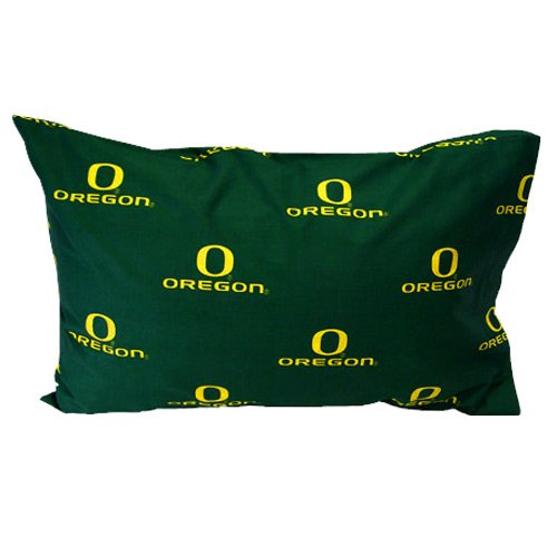 Oregon Ducks Printed Standard Pillow Case