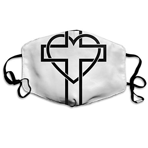 SDQQ6 Christian Cross (13) Mouth Mask Unisex Printed Fashion Face Mask Anti-dust Masks for $<!--$14.55-->