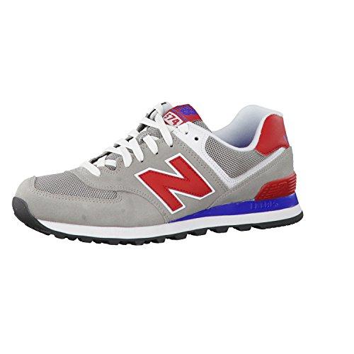 New BalanceML574 - pantufla Hombre Gris - MOX-Grey/Red