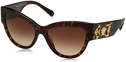 Versace Havana Sunglasses (Versace Women's VE4322 Havana/Brown Gradient Sunglasses)
