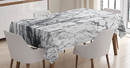 Apartment Tablecloth Ambesonne Abstract Rectangular