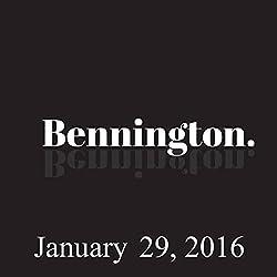 Bennington, January 29, 2016