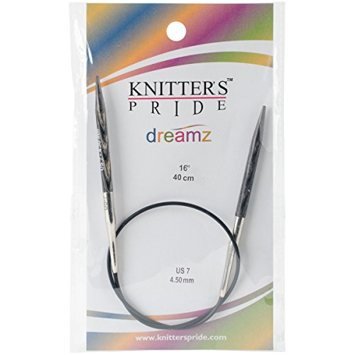 - Knitter's Pride 7/4.5mm Dreamz Fixed Circular Needles, 16