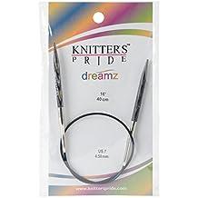 "Knitter's Pride 7/4.5mm Dreamz Fixed Circular Needles, 16"""