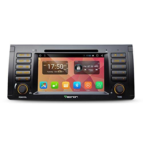 Eonon Android 7.1 Car Radio Stereo Compatible with BMW E53 1999-2005, 7 Inch in Dash Touch Screen Radio Octa-core 2GB RAM 32GB ROM Head Unit Built-in Bluetooth Radio Receiver -GA8166A