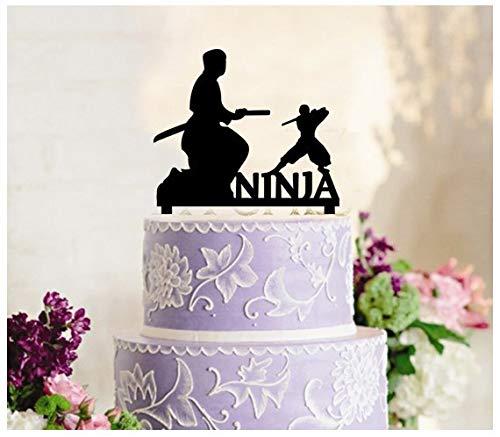 DaveBu57 - Decoración para tarta con diseño de silueta ...