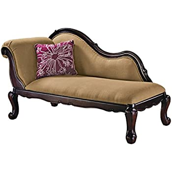 Amazon.com: Skyline Furniture Tufted Fainting Sofa, Velvet ...