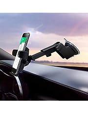 R2B Telefoonhouder auto met zuignap geschikt voor raam/dashboard - Auto accessoires - Phone holder - Auto telefoonhouder - Telefoonhouder auto zuignap - Universeel
