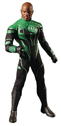 Mezco One: 12 Collective: DC Green Lantern John Stewart Action Figure, Multicolor