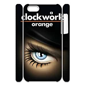 QSWHXN Cover Custom A Clockwork Orange 2 Phone 3D Case For Iphone 5C [Pattern-1]