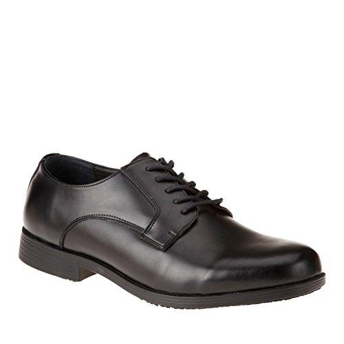 Genuine Grip Mens Oxford Dress Shoe Black vSMb3