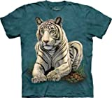 The Mountain Tiger Gaze Adult T-shirt M