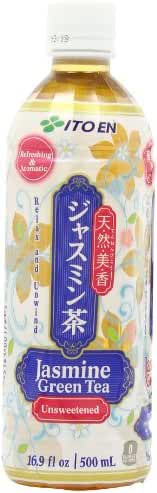 Ito En Jasmine Green Tea, Unsweetened, 16.9 Ounce (Pack of 12)