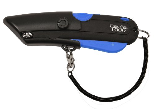 Modern Box Cutter for Retail Use - High productivity and unique features with 100% guaranttee (1000 Series, Blue)