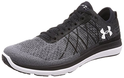 Under Armour Herren UA Threadborne Fortis Laufschuhe Schwarz (Black 001)