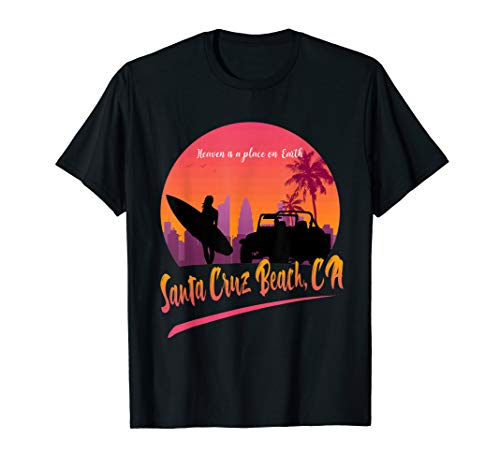 Santa Cruz Beach California Shirt Surfing Vacation