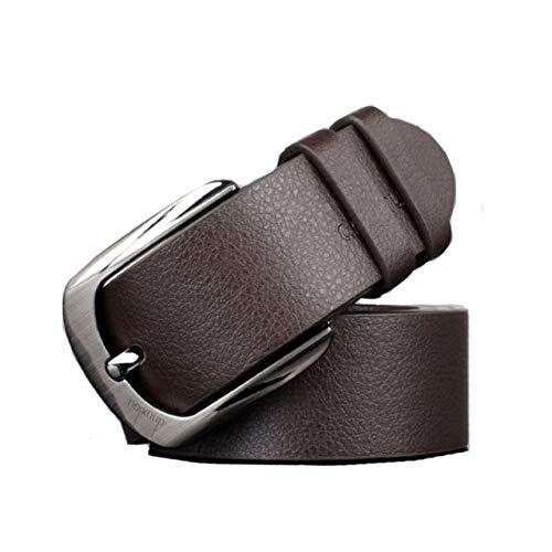 Cinturón de Cuero para Hombre SUNNSEAN Moda Chic Hombres Negocio ...