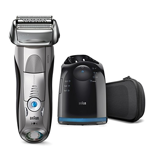 Braun Premium Wet & Dry All-in-One Turbo-Powered Universal Voltage Shaver & Beard Trimmer by Braun