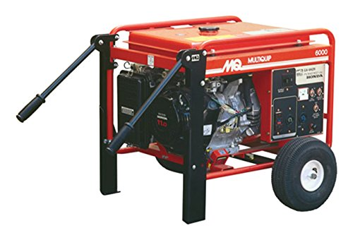 MIKASA GA6HRS Electric Start Generator, 6kW, 120/240V, Honda