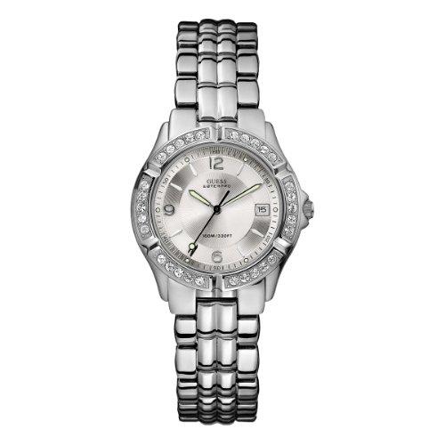Guess W0148L1 Ladies Silver Watch