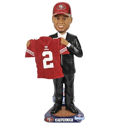 Colin Kaepernick 49ers Football Draft Day Bobblehead by Bobbleheads
