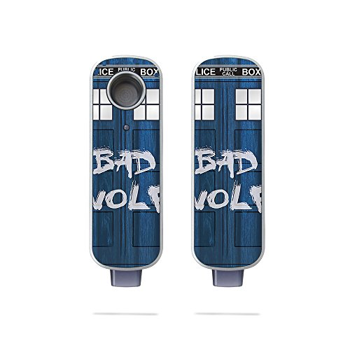 MightySkins Skin Compatible with Firefly 2 Vaporizer - Time Lord Box | Protective, Durable, and Unique Vinyl Decal wrap Cover | Easy to Apply, Remove, and Change Styles | Made in The USA
