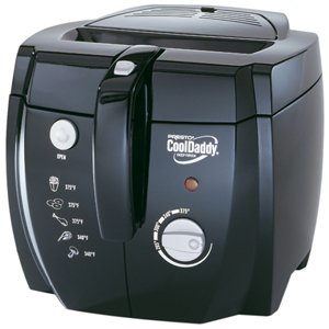 NATIONAL PRESTO INDISTRIES, Presto Professional CoolDaddy Deep Fryer (Catalog Category: Small Appliances / Home Appliances)